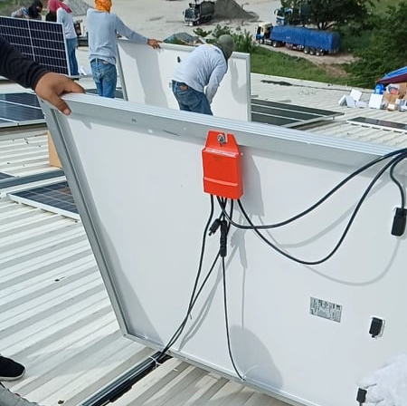Rapid Shutdown Devices in 200KW Solar Rooftop System